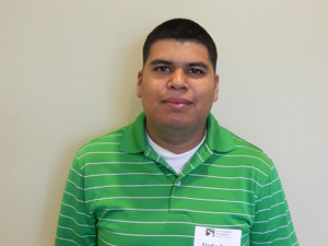Golf Academy of America Eladio Garcia trains to become an golf instructor