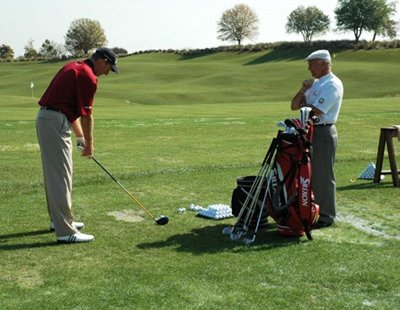 National Golf Schools Pat Livingston with Jim furyk